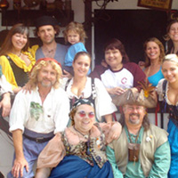photo of people at Renaissance Faire